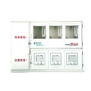 Multifunction Transparent PC electric energy meter box with Single Phase 3-position