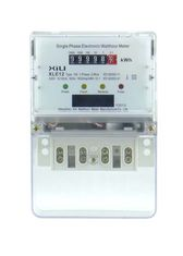 China Drum Register Residential Single Phase Energy Meter with reset function supplier