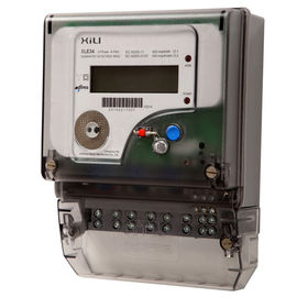 China Three Phase Electronic Energy Meter for Household , 3 phase 4 wire energy meter supplier