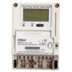 China Remote Reading Domestic Wireless Energy Meter 1 Phase with GPRS Modules supplier