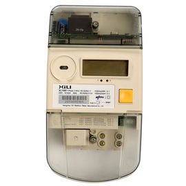 China Reactive energy Single Phase Energy Meter / KWH Meters Two wires supplier