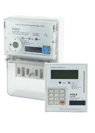 China Three Phase Prepaid Energy Meters / Split Prepayment KWh Meter with LCD or keypad supplier