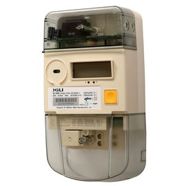 China AMR Wireless Single Phase power energy meter with ZIGBEE Communication Module supplier