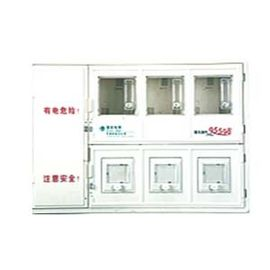 China Multifunction Transparent PC electric energy meter box with Single Phase 3-position supplier
