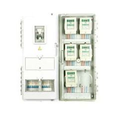 China Single phase plastic transparent KWH energy meter box for domestic 750×770×120mm supplier