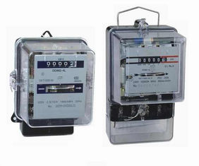 China AC 110V - 240V Electromechanical Energy Meter Single Phase Panel Mounted supplier
