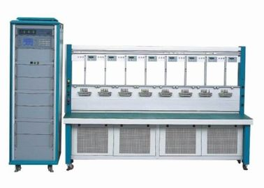 China High Precision Three Phase Energy Meter Test Bench with Double Row 12 / 16 / 20 Meters supplier