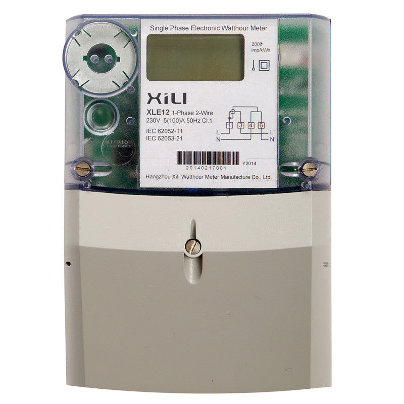 Kilowatt Usage Meter : Pc plastic secure single phase energy meter kilowatt