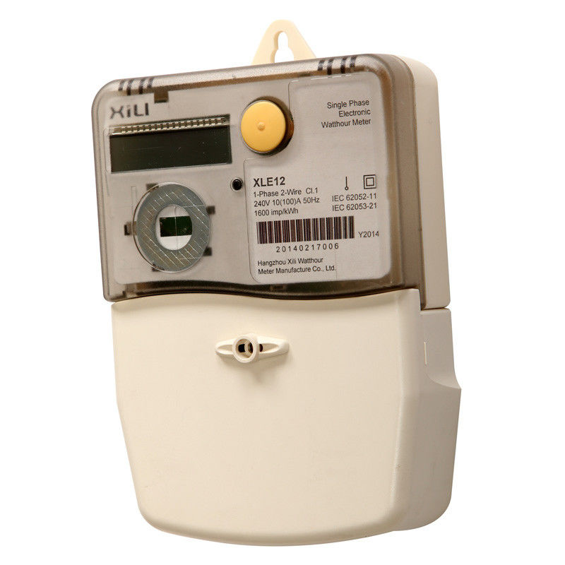 Residential Power Monitoring : Ip durable waterproof single phase electrical energy