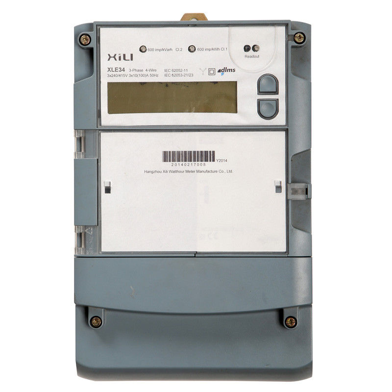 Three Phase Electric Meter : Iec and mid approved multifunction three phase energy