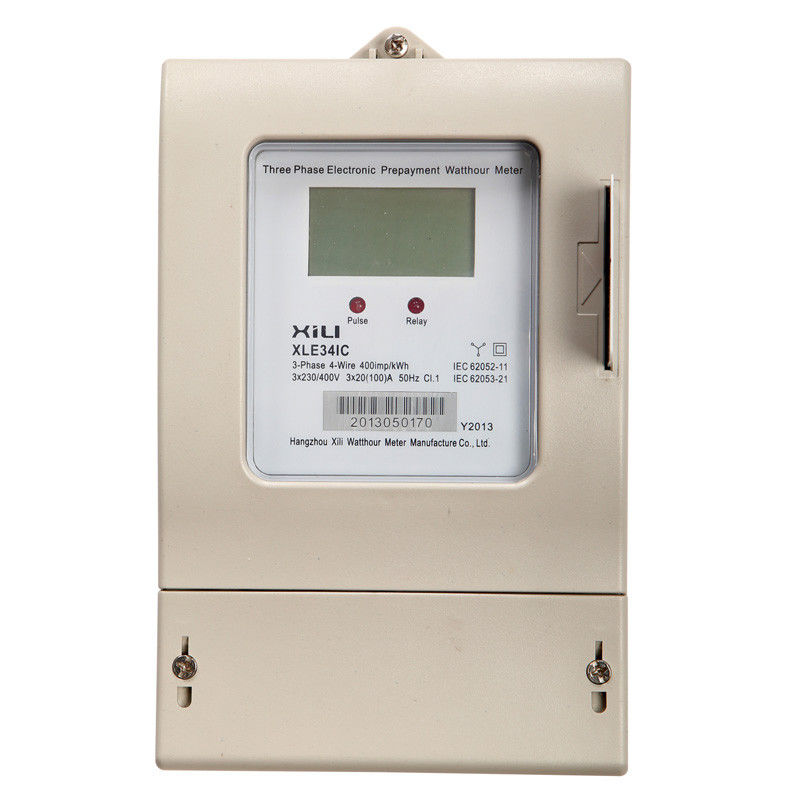 3 Phase Meter Utilyti : Integrated ic card three phase energy meter digital
