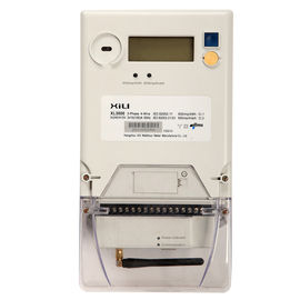 Commercial / Industrial Reactive 3 phase energy meter , KWH Meters with LCD display