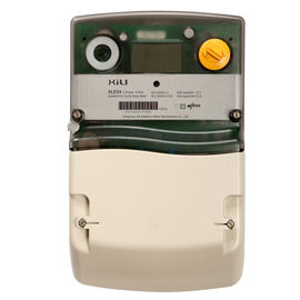 Three Phase Four Wire Multirate Watt Hour Meter / KWH Meters for Residential
